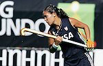 Argentina's Agustina Garcia during Samsung Women's World Cup Hockey Pool B match between Argentina and South Korea at Club de Campo in Madrid, Monday 02 October, 2006. (ALTERPHOTOS/Alvaro Hernandez).