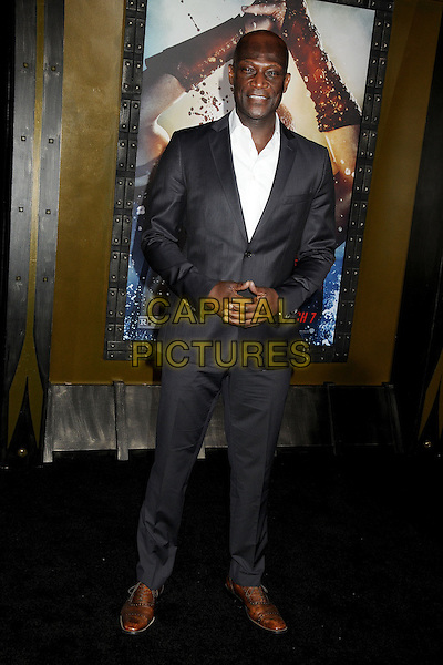 4 March 2014 - Hollywood, California - Peter Mensah. &quot;300: Rise of an Empire&quot; Los Angeles Premiere held at the TCL Chinese Theatre. <br /> CAP/ADM/BP<br /> &copy;Byron Purvis/AdMedia/Capital Pictures