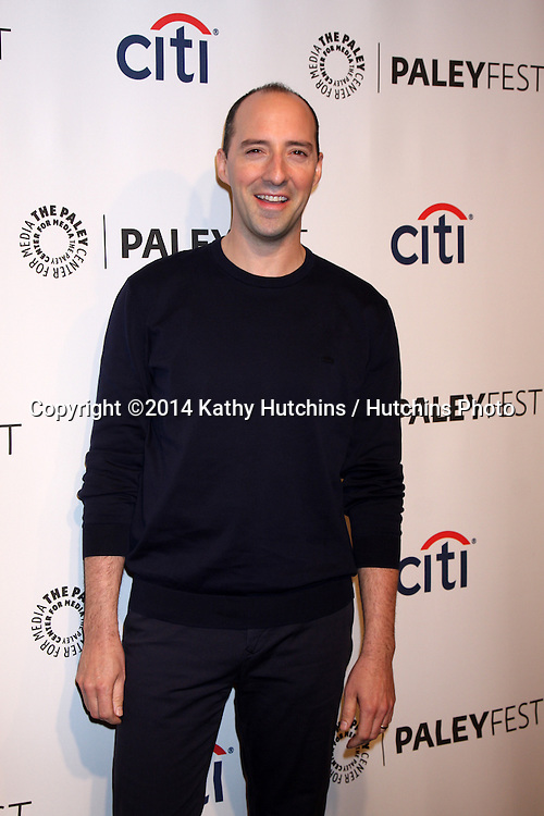 "LOS ANGELES - MAR 27:  Tony Hale at the PaleyFEST 2014 - ""VEEP"" at Dolby Theater on March 27, 2014 in Los Angeles, CA"