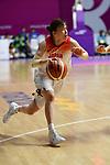 Saki HayashI (JPN), <br /> AUGUST 17, 2018 - Basketball : Women's Qualification round match between Japan 73-105 China at Gelora Bung Karno Basket Hall A during the 2018 Jakarta Palembang Asian Games in Jakarta, Indonesia. (Photo by MATSUO.K/AFLO SPORT)