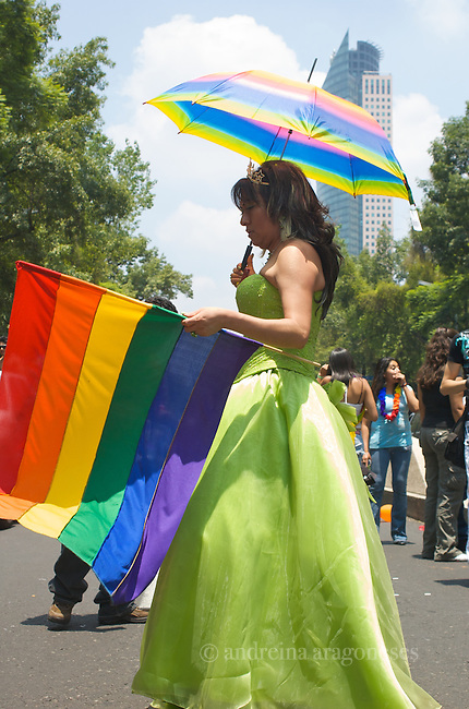 Marcha orgullo gay - Me?xico 2010 .Pride march Mexico 2010