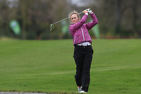Leah Temple Lang (Elm Park) on the 1st fairway during Round 1 of the Irish Girls U18 Open Stroke Play Championship at Roganstown Golf &amp; Country Club, Dublin, Ireland. 05/04/19 <br /> Picture:  Thos Caffrey / www.golffile.ie