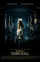 DOWN A DARK HALL (2018)<br /> POSTER<br /> *Filmstill - Editorial Use Only*<br /> CAP/FB<br /> Image supplied by Capital Pictures