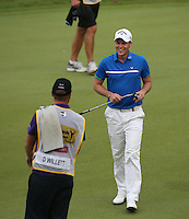 Danny Willett (ENG) happy despite dropping three shots on the back nine to finish T5 during the Final Round of the 2014 Maybank Malaysian Open at the Kuala Lumpur Golf & Country Club, Kuala Lumpur, Malaysia. Picture:  David Lloyd / www.golffile.ie