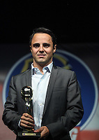 "Driver Felipe Massa of Ferrari Formula 1 team during the prize money Racing magazine ""Golden Helmet"" in the neighborhood of Mill Events Mooca region east of the state capital - PHOTO: VANESSA CARVALHO - BRAZIL PRESS PHOTO."
