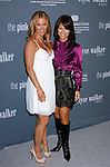 SANTA MONICA, CA. - September 13: Actress Poppy Montgomery and Philanthropist/Fashion Designer Elyse Walker arrive at the 4th Annual Pink Party at Barker Hanger on September 13, 2008 in Santa Monica, California.