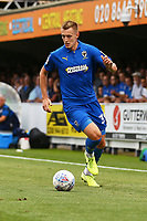 Joe Pigott of AFC Wimbledon during AFC Wimbledon vs Wycombe Wanderers, Sky Bet EFL League 1 Football at the Cherry Red Records Stadium on 31st August 2019