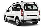 Car pictures of rear three quarter view of 2016 Citroen BERLINGO-MULTISPACE XTR+ 5 Door Mini MPV Angular Rear