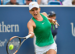 August  18, 2018:  Simona Halep (ROU) defeated Aryna Sabalenka (BLR) 6-3, 6-4, at the Western & Southern Open being played at Lindner Family Tennis Center in Mason, Ohio. ©Leslie Billman/Tennisclix/CSM