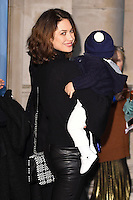Olga Kurylenko<br /> at the launch of the Skate at Somerset House ice rink, London.<br /> <br /> ©Ash Knotek  D3199  16/11/2016