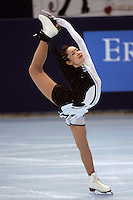 November 18, 2005; Paris, France; Figure skating star SHIZUKA ARAKAWA of Japan skates to bronze in ladies figure skating at Trophee Eric Bompard, ISU Paris Grand Prix competition.  Arakawa is one of the favorites for medals in ladies at the Torino 2006 Olympics.<br />