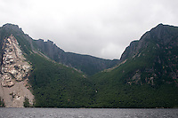 Hanging Valley Western Brook Pond Gros Moren National Park Newfoundland and Labrador