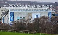 A general view of Elland Road, home of Leeds United<br /> <br /> Photographer Alex Dodd/CameraSport<br /> <br /> The EFL Sky Bet Championship - Leeds United v Queens Park Rangers - Saturday 8th December 2018 - Elland Road - Leeds<br /> <br /> World Copyright &copy; 2018 CameraSport. All rights reserved. 43 Linden Ave. Countesthorpe. Leicester. England. LE8 5PG - Tel: +44 (0) 116 277 4147 - admin@camerasport.com - www.camerasport.com