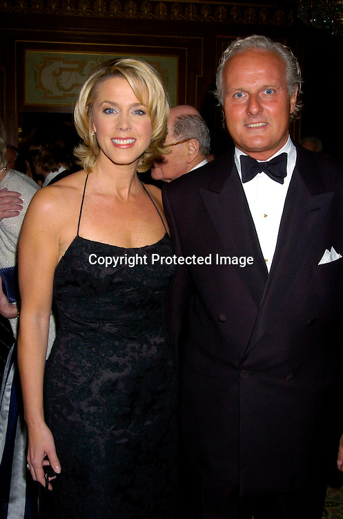 Deborah Norville and husband Karl Wellner ..at the 2004 Pen Literary Dinner and the Presentation of Free Expression Awards  on April 20, 2004 at The ..Pierre Hotel in New York City. ..Photo by Robin Platzer, Twin Images