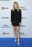 21 May 2017 - Burbank, California - Olivia Holt. ABC Studios and Freeform International Upfronts held at The Walt Disney Studios Lot in Burbank. Photo Credit: Birdie Thompson/AdMedia