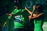 Peter Sagan (SVK) Bora-Hansgrohe retains the points Green Jersey at the end of Stage 9 of the 2019 Tour de France running 170.5km from Saint-Etienne to Brioude, France. 14th July 2019.<br /> Picture: ASO/Thomas Maheux | Cyclefile<br /> All photos usage must carry mandatory copyright credit (© Cyclefile | ASO/Thomas Maheux)