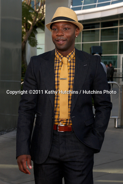LOS ANGELES - JUN 21:  Nelsan Ellis arriving at the True Blood Season 4 Premiere at ArcLight Theater on June 21, 2011 in Los Angeles, CA