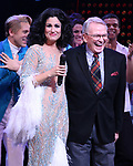Stephanie J. Block and Bob Mackie during the Broadway Opening Night Curtain Call of 'The Cher Show'  at Neil Simon Theatre on December 3, 2018 in New York City.
