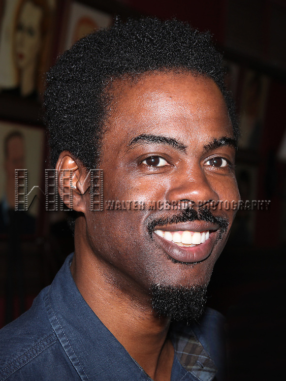 Chris Rock.attending the celebration as Sardi's honors all five cast members from the Broadway production of 'The Motherf**ker with the Hat'  in New York City