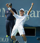 Kei Nishikori (JPN) defeats Novak Djokovic (SRB) 6-4, 1-6, 7-6, 6-3