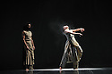 "© Copyright licensed to London News Pictures. 05/10/2010. Akram Khan Company presents ""Vertical Road"" at Sadlers' Wells, London. Yen-Ching Lin and Salah El Brogy perform in the multi-award winning Sadler's Wells Associate Artist's new work. Khan joins forces with fellow Sadler's Wells Associate Artist, Nitin Sawhney, who adds a specially commissioned score."