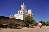 San xavier mission in Arizona, USA