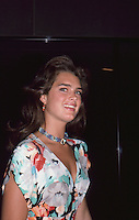 Brooke Shields 1986 by Jonathan Green
