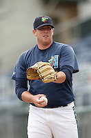 July 6 2009: Taylor Stanton of the Everett AquaSox before game against the Yakima Bears at Everett Memorial Stadium in Everett,WA.  Photo by Larry Goren/Four Seam Images