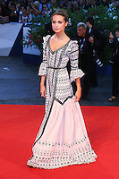 Alicia Vikander attends the red carpet for the premiere of the movie 'The Danish Girl' during 72nd Venice Film Festival at Palazzo Del Cinema in Venice, Italy, September 5.<br /> UPDATE IMAGES PRESS/Stephen Richie