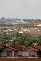Expansão imobiliária.<br /> <br /> Paragominas, Pará, Brasil.<br /> Foto Paulo Santos<br /> 04/11/2009