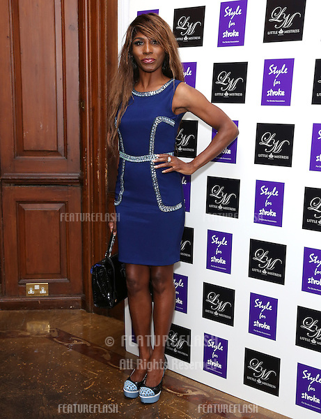 Sinitta arriving for the Style for Stroke Party, 5 Cavendish Square, London. 02/10/2012 Picture by: Henry Harris  / Featureflash