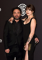 LOS ANGELES, CALIFORNIA - JANUARY 06: Johnny Galecki and Alaina Meyer attend the Warner InStyle Golden Globes After Party at the Beverly Hilton Hotel on January 06, 2019 in Beverly Hills, California. <br /> CAP/MPI/IS<br /> &copy;IS/MPI/Capital Pictures