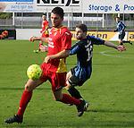 Cappellen (rood) vs. Hamoir :<br />Robbe Kil van Cappellen en Fran&ccedil;ois Timmermans