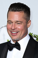 HOLLYWOOD, LOS ANGELES, CA, USA - MARCH 02: Brad Pitt at the 86th Annual Academy Awards - Press Room held at Dolby Theatre on March 2, 2014 in Hollywood, Los Angeles, California, United States. (Photo by Xavier Collin/Celebrity Monitor)