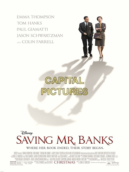POSTER ART<br /> in Saving Mr. Banks (2013) <br /> *Filmstill - Editorial Use Only*<br /> CAP/NFS<br /> Image supplied by Capital Pictures