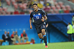 Musashi Suzuki (JPN), AUGUST 4, 2016 - Football / Soccer : Men's First Round Group B between Nigeria 5-4 Japan at Amazonia Arena during the Rio 2016 Olympic Games in Manaus, Brazil. (Photo by YUTAKA/AFLO SPORT)