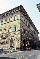Florence: Medici-Riccardi Palace, 1444. Michelozzo, for Cosimo the Elder. Photo '83.
