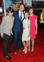 Erik Howsam, Tiffany Howsam &amp; Family at the premiere for &quot;Only The Brave&quot; at the Regency Village Theatre, Westwood. Los Angeles, USA 08 October  2017<br /> Picture: Paul Smith/Featureflash/SilverHub 0208 004 5359 sales@silverhubmedia.com