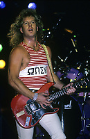 Night Ranger performs at Poplar Creek Music Theatre in Hoffman Estates, Illinois. July11,1986 <br /> CAP/MPI/GA<br /> ©GA/MPI/Capital Pictures