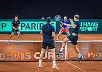 The Hague, The Netherlands, September 12, 2017,  Sportcampus , Davis Cup Netherlands - Chech Republic, Training Dutch team, <br /> Photo: Tennisimages/Henk Koster
