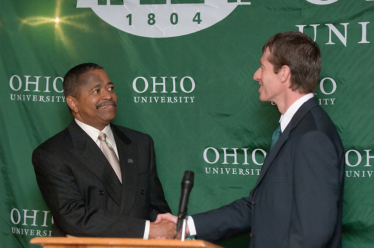 5/22/06..Contact: Director of Media relations Jack Jeffery at 740-597-1793 or jefferyj@ohio.edu, or Media Relations Coordinator Jessica Stark at 740-597-2938 or starkj@ohio.edu...OHIO UNIVERSITY NAMES JOSEPH A. BRENNAN.EXECUTIVE DIRECTOR OF COMMUNICATIONS AND MARKETING...ATHENS, Ohio ? Ohio University has named Joseph A. Brennan executive director of Communications and Marketing, effective July 1, Ohio University President Roderick J. McDavis announced today. ..Brennan is currently executive director of marketing and university relations for .University of the Pacific, a position he has held since 2003. ..He will provide strategic direction to Ohio University's communication and marketing efforts and lead the University Communications and Marketing office. More specifically, Brennan will manage communication and marketing research, brand identity, internal communications, media relations, Web site development and maintenance, and outreach to constituent audiences. He will report directly to McDavis and serve as a member of the senior administrative cabinet...?As expected, we had an outstanding group of candidates for this position from across the country,? McDavis said. ?With his career-long commitment to the field of communications and proven success in extending the effectiveness of media relations and marketing efforts in a range of venues, Joe rose to the top. He has a passion for public higher education and possesses the marketing insights to effectively communicate the wonderful accomplishments of our faculty, staff, students and alumni.? ..The University Communications and Marking office has more than 20 employees. The office is composed of the areas of news, photography, publications, video, the Web site and Ohio Today, the university's alumni magazine. Brennan also will provide leadership to and coordinate activities of employees performing communications functions across the Athens and regional campuses.  .. ?I'm excited about working with President McDavi