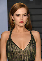 04 March 2018 - Los Angeles, California - Zoey Deutch. 2018 Vanity Fair Oscar Party hosted following the 90th Academy Awards held at the Wallis Annenberg Center for the Performing Arts. <br /> CAP/ADM/BT<br /> &copy;BT/ADM/Capital Pictures