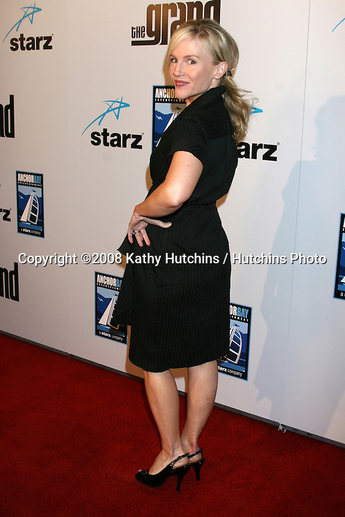 """Rachael Harris.""""The Grand"""" Premiere.Cinerama Dome.ArcLight Theaters.Los Angeles, CA.March 5, 2008.©2008 Kathy Hutchins / Hutchins Photo...."""