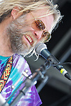 Rock and blues singer, guitarist and songwriter Anders Osborne rocks Point Pleasant, NJ at the Rhythm at the Shore Music Festival.
