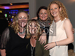 Leslie-Ann Dobson, Ann Colgan, Angela Powderly and Maria Brodigan at St Olivers Community College class of 1996 reunion. Photo:Colin Bell/pressphotos.ie