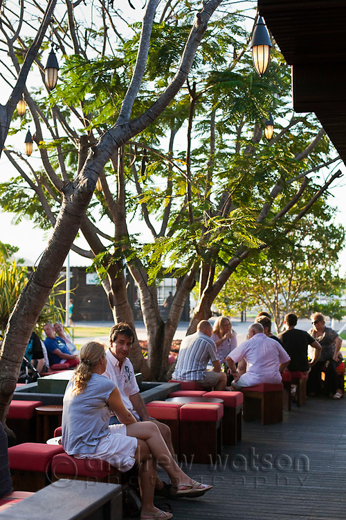 Salt House Restaurant and Bar.  Marina Point, Cairns, Queensland, Australia