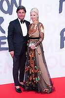 Tamara Beckwith, Giorgio Veroni at the 2018 Fashion For Relief gala during the 71st Cannes Film Festival, held at Aeroport Cannes Mandelieu in Cannes, France.<br /> CAP/NW<br /> &copy;Nick Watts/Capital Pictures