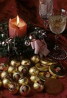 """Europe/Autriche/Salzbourg : Repas de Noël - Les """"Mozartkulgen"""" chocolats à l'effigie du musicien"""