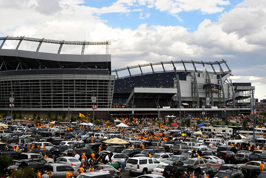 31 Aug 2008: Invesco Field at Mile High seen before the annual CU v CSU game. The Colorado Buffaloes defeated the Colorado State Rams 38-17 at Invesco Field at Mile High in Denver, Colorado. FOR EDITORIAL USE ONLY