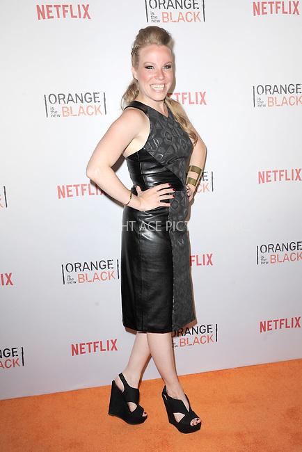 WWW.ACEPIXS.COM<br /> June 11, 2015 New York City<br /> <br /> Emma Myles attending the 'Orangecon' Fan Event at Skylight Clarkson SQ on June 11, 2015 in New York City.<br /> <br /> Credit : Kristin Callahan/ACE Pictures<br /> Tel: (646) 769 0430<br /> e-mail: info@acepixs.com<br /> web: http://www.acepixs.com